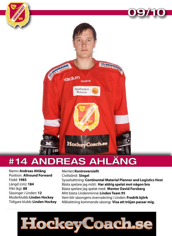 Andreas Ahläng - HockeyCoach.se