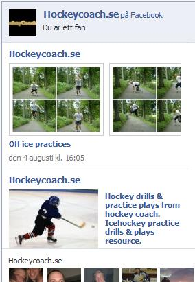 HockeyCoach.se på Facebook