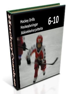 Youth hockey practices and drills for training 6-10 year old hockey players