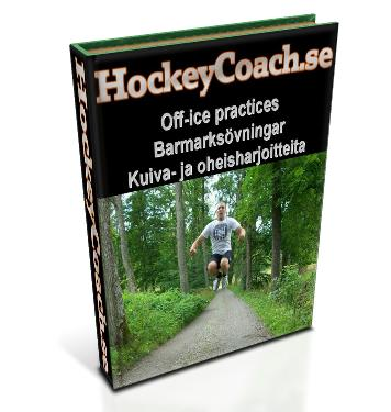 Hockey off-ice practices and drills