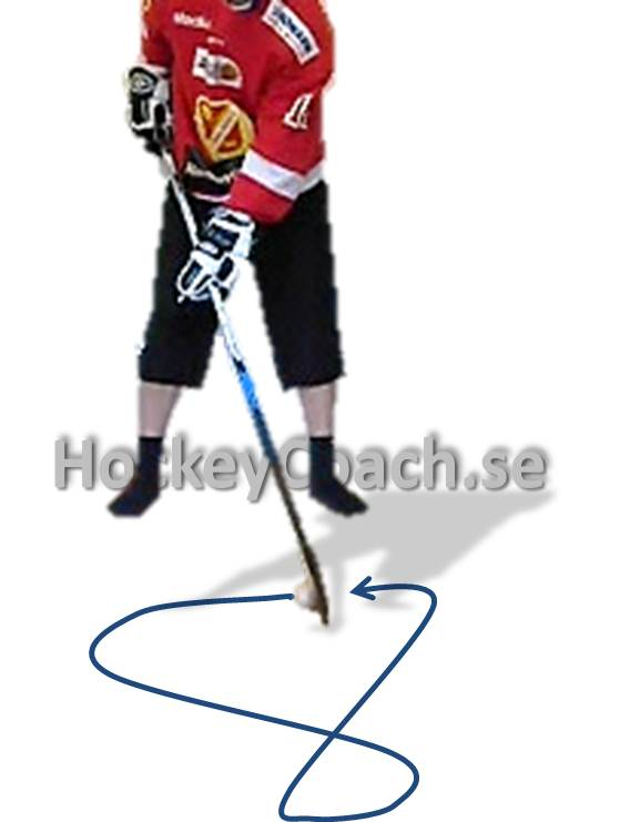 Puck control drills, practices, training and exercises