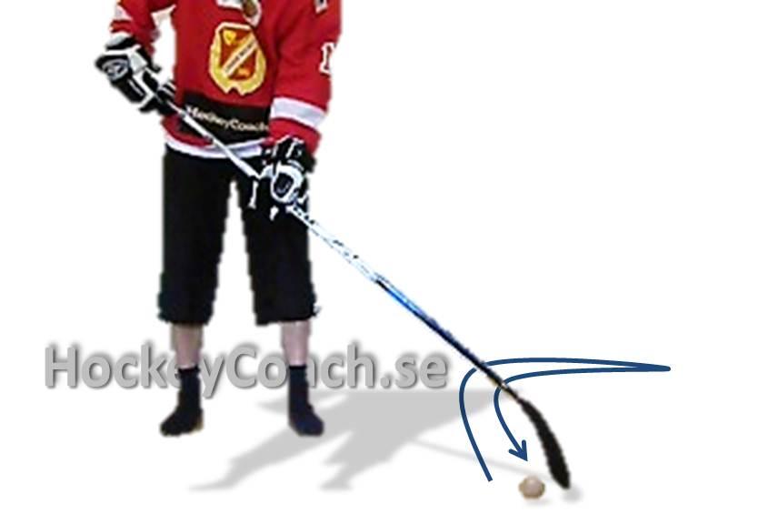 Puck control, stick handling drills, practices